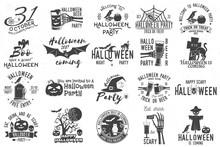 Set Of Halloween Celebration C...