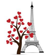 Icon Of Eiffel Tower