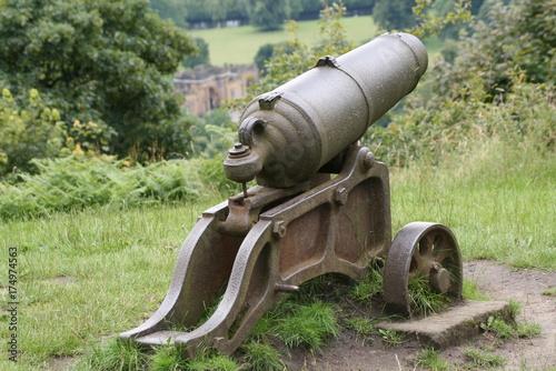 Plakat cannon patrząc na chatsworth