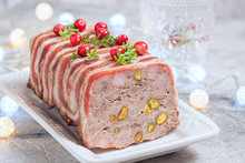 Terrine With Ground Meat, Ham ...