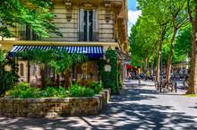 Boulevard Saint-Germain In Par...