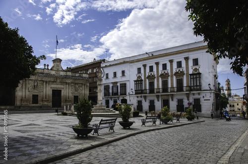 Plaza de la Asunción y Ayuntamiento de Jerez de la Frontera