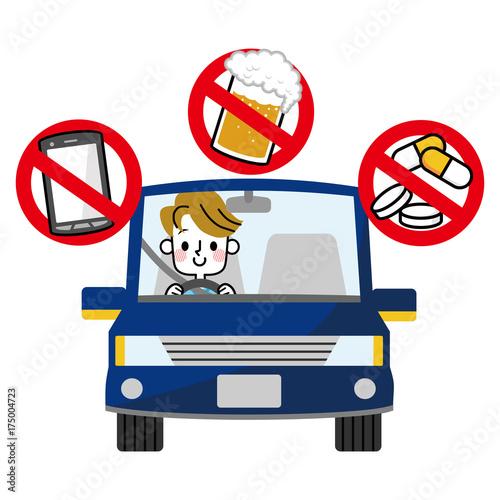 Cuadros en Lienzo 安全運転 交通ルール