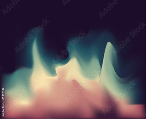 Fototapeta Abstract blur background Vector illustration Purple, green, pink, blue colors