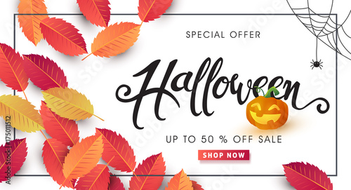 Happy halloween calligraphy banners party invitationctor happy halloween calligraphy banners party invitationctor illustration stopboris Choice Image