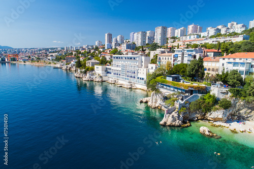 Fotografia  Sablicevo- The City Beach in Rijeka, Croatia