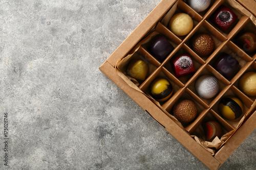 Plakat Pudełko słodyczy