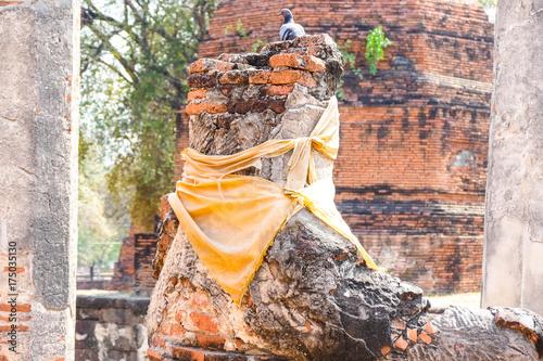 Statue of Ayutthaya Buddha Statue