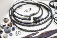 Torques, Colliers, Et Bijoux De L'âge Du Fer, Celtes