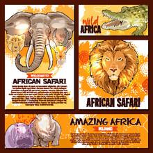 Vector Zoo Sketch Poster Wild ...