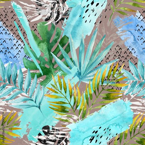 reka-rysujacy-abstrakcjonistyczny-tropikalny-lata-tlo