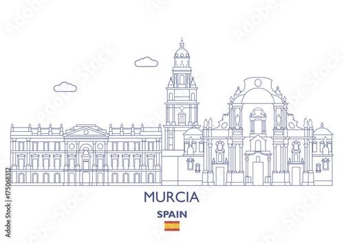 Murcia City Skyline, Spain
