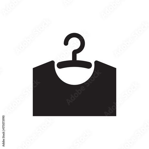Fototapeta  Hanger vector icon