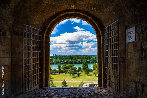Welcome to Serbia. Defterdar Gate 1693-1696. Belgrade.