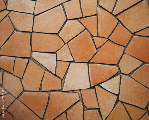Mosaic wall Canvas Print