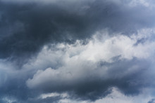 Rain Clouds Before Thunderstor...