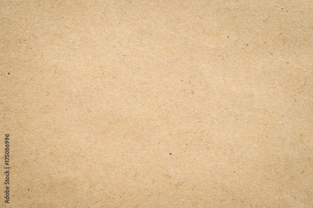 Fototapeta close up kraft brown paper texture and background.