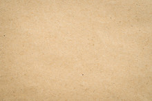 Close Up Kraft Brown Paper Texture And Background.