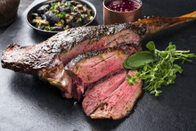 Barbecue Haunch Of Venison Wit...