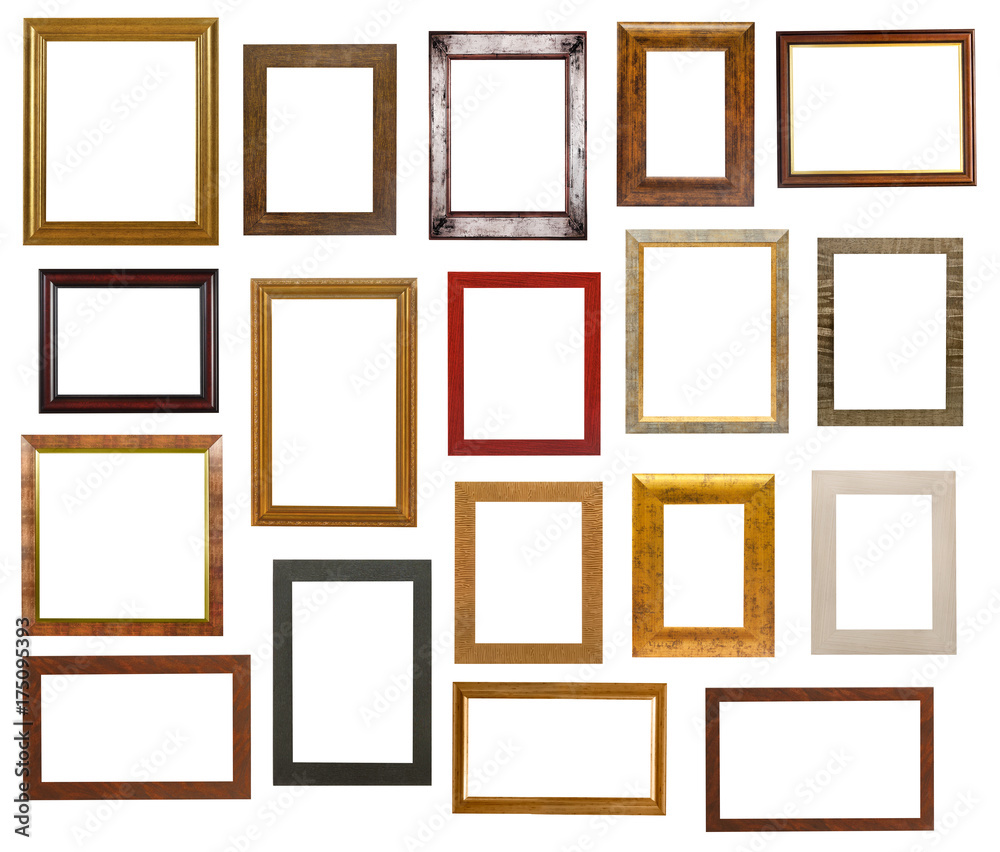 Fototapety, obrazy: Picture frame collection