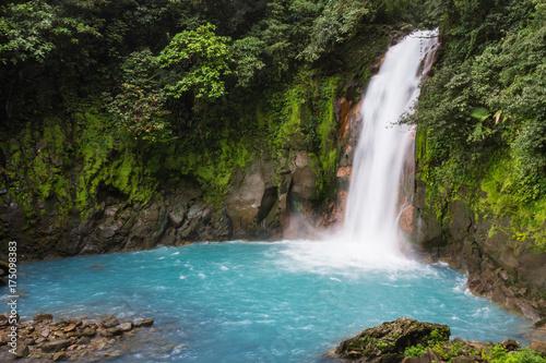 Wall Murals Waterfalls Rio Celeste Waterfall