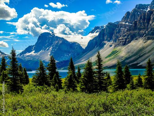 Zdjęcie XXL Crowfoot lodowiec Banff National Park Alberta Kanada
