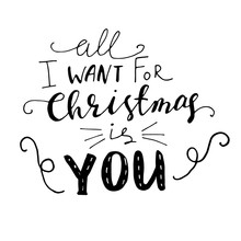 Christmas Hand Lettering Signa...