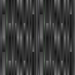 Vector stripes seamless pattern, slanted parallel lines. Geometric monochrome texture with gradient transition effect. Abstract modern repeat background. Creative graphic design