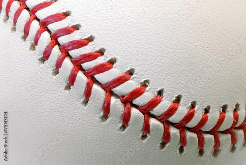 Fotografie, Obraz  Professional Baseball Ball Raised-Seam