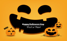 Halloween Concept, Pumpkin Mon...