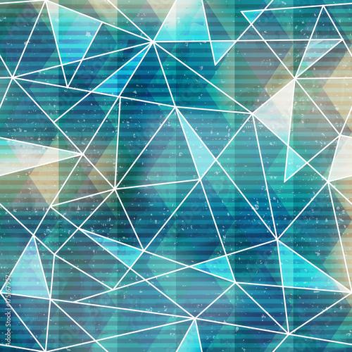 niebieski-trojkat-wzor-z-moca-grunge