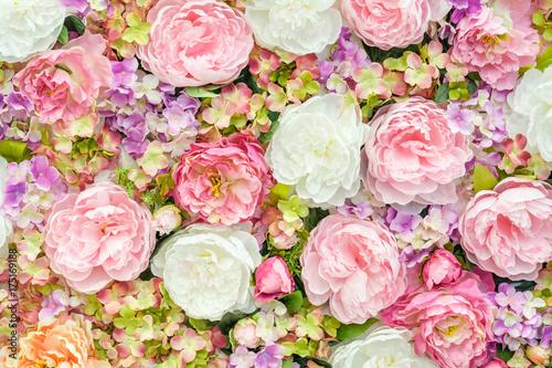 Poster Fleur Floral background