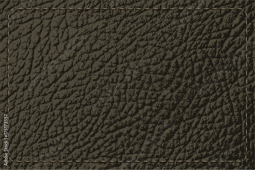 Deurstickers Leder leather texture