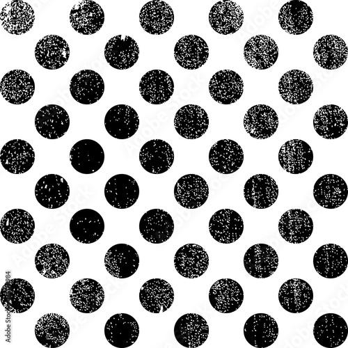 Zdjęcie XXL wzór kropek