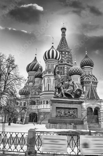 Plakat Katedra Świętego Bazylego w Moskwie