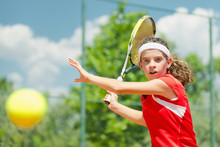 Young Tennis Champion