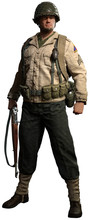 World War Two American Infantry Soldier