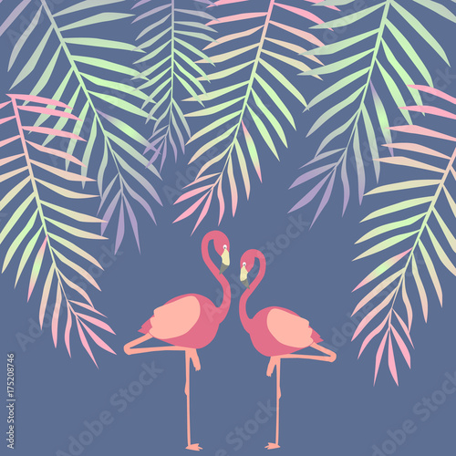ilustracja-z-flamingami