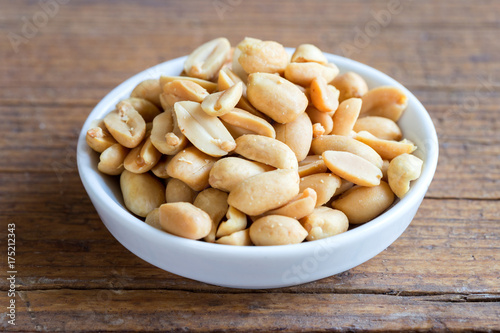 Photo gesalzene Erdnüsse