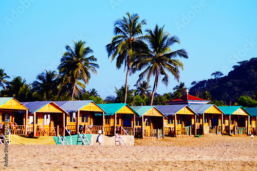 Cozy Private Resort Bungalows On The Beach Agonda South Goa