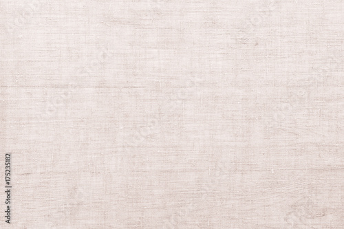 Poster Tissu Gray linen texture for background. White linen canvas. The background image, texture