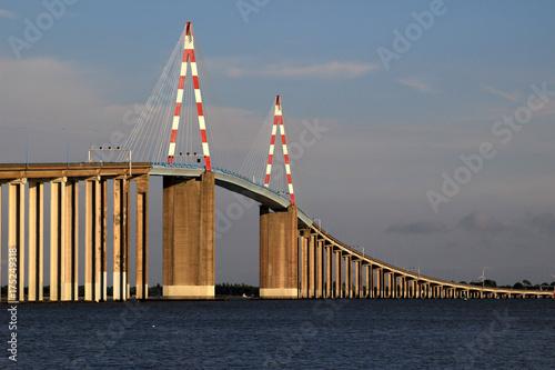 Poster Bridges Pont de Saint Nazaire