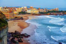 Biarritz City And Its Famous S...