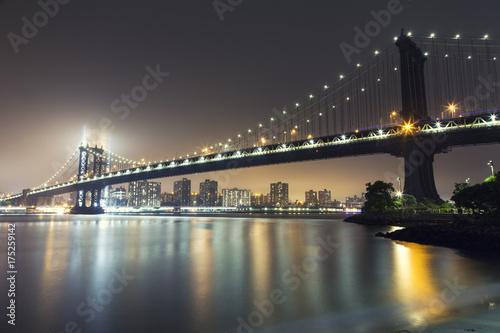 Foto op Aluminium New York New York, Manhattan Bridge