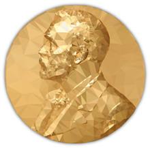 Gold Medal Nobel Prize, Graphi...