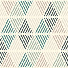 Seamless Pattern With Hatched Diamonds. Argyle Wallpaper. Rhombuses And Lozenges Motif. Repeated Geometric Figures