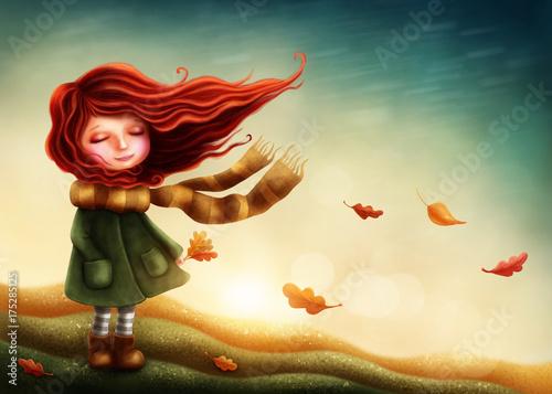 mala-ruda-dziewczynka-owinieta-szalikiem-w-jesienny-dzien