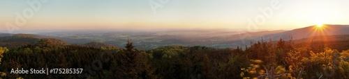 Foto op Plexiglas Heuvel Bohemian, Landscape