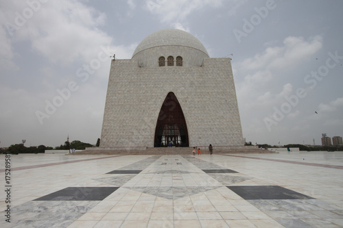 Fotografie, Obraz  National Mausoleum, Karachi
