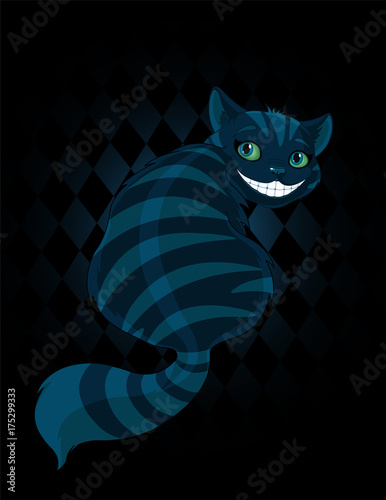 Wall Murals Fairytale World Cheshire Cat